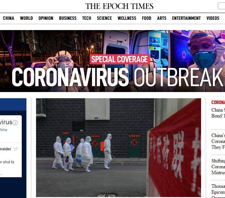 February 26, 2020, BY Prof. Anthony Hall The Wuhan Coronavirus Epidemic