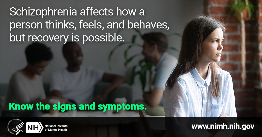 Schizophrenia Awareness Week (May 13-19)